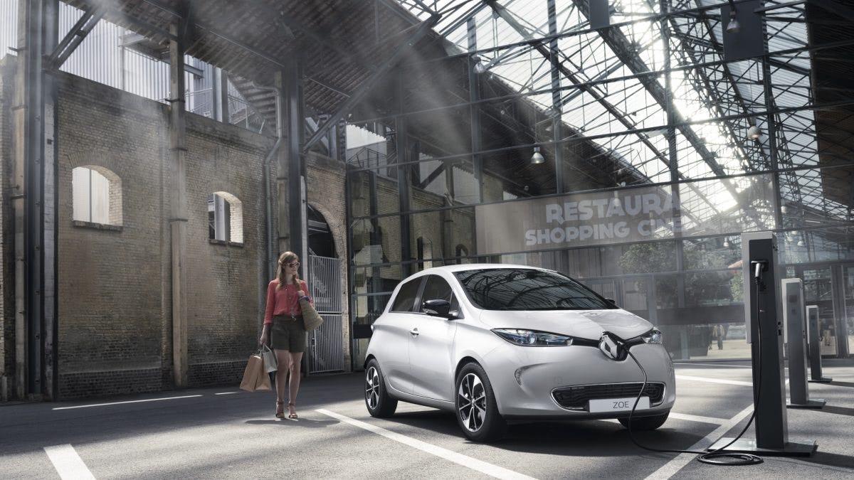 Renault ZOE Otthoni fali gyors töltő, utcai töltőkábel