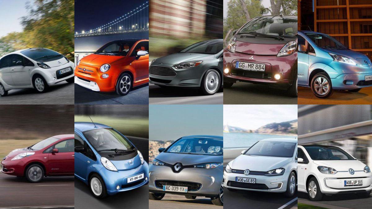 10 népszerű elektromos autó