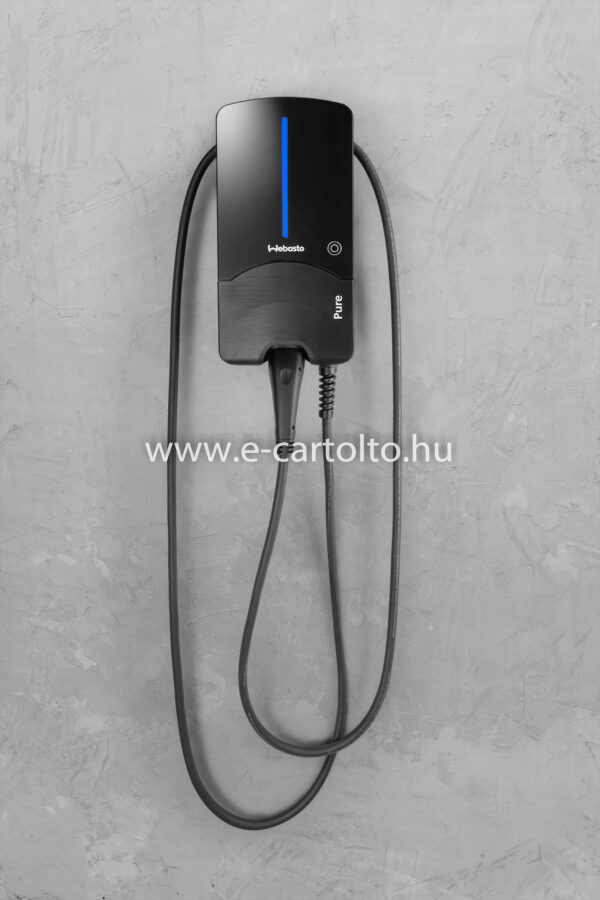Webasto pure black fali gyors töltő 11kw , 22kw type 2