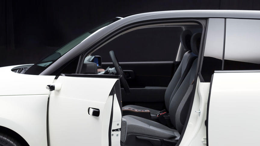 Honda e elektromos külső