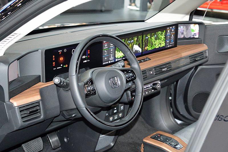 Honda e elektromos belsőtér