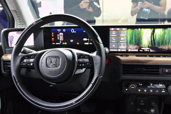 Honda e elektromos belső