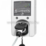 luminancity fali töltő type 2 aljzat 7.4kW, 11kW, 22kW teljesítmény