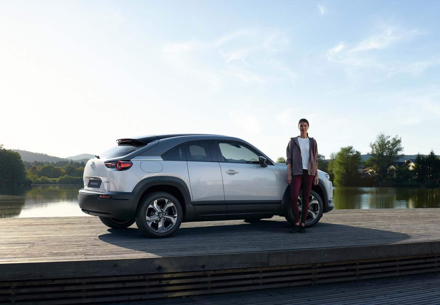 Mazda mx30 töltés, elektromos autó töltőkábel, leírás,külső