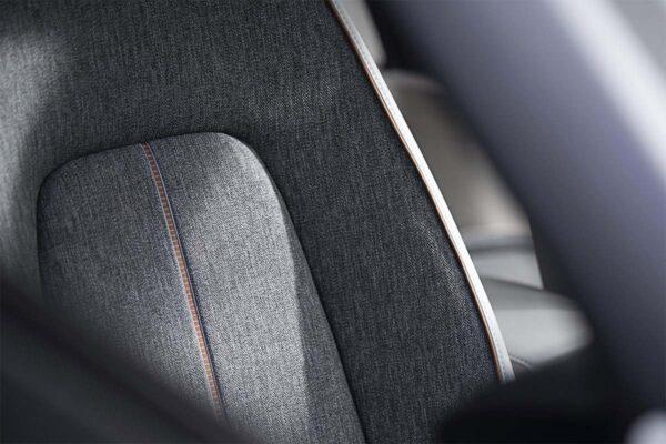 Mazda mx30 töltés, elektromos autó töltőkábel, leírás, szövet ülés