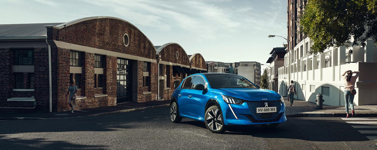 Peugeot e-208, elektromos Peugeot, gyönyörű színei