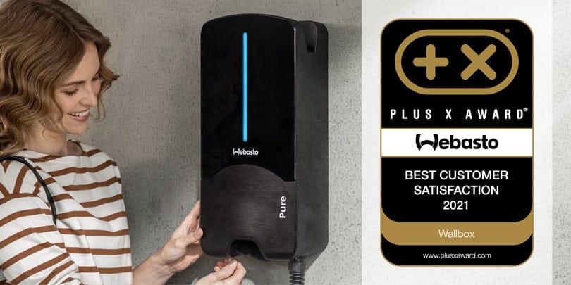 webasto wallbox plus x award Legmagasabb ügyfél elégedettség 2021